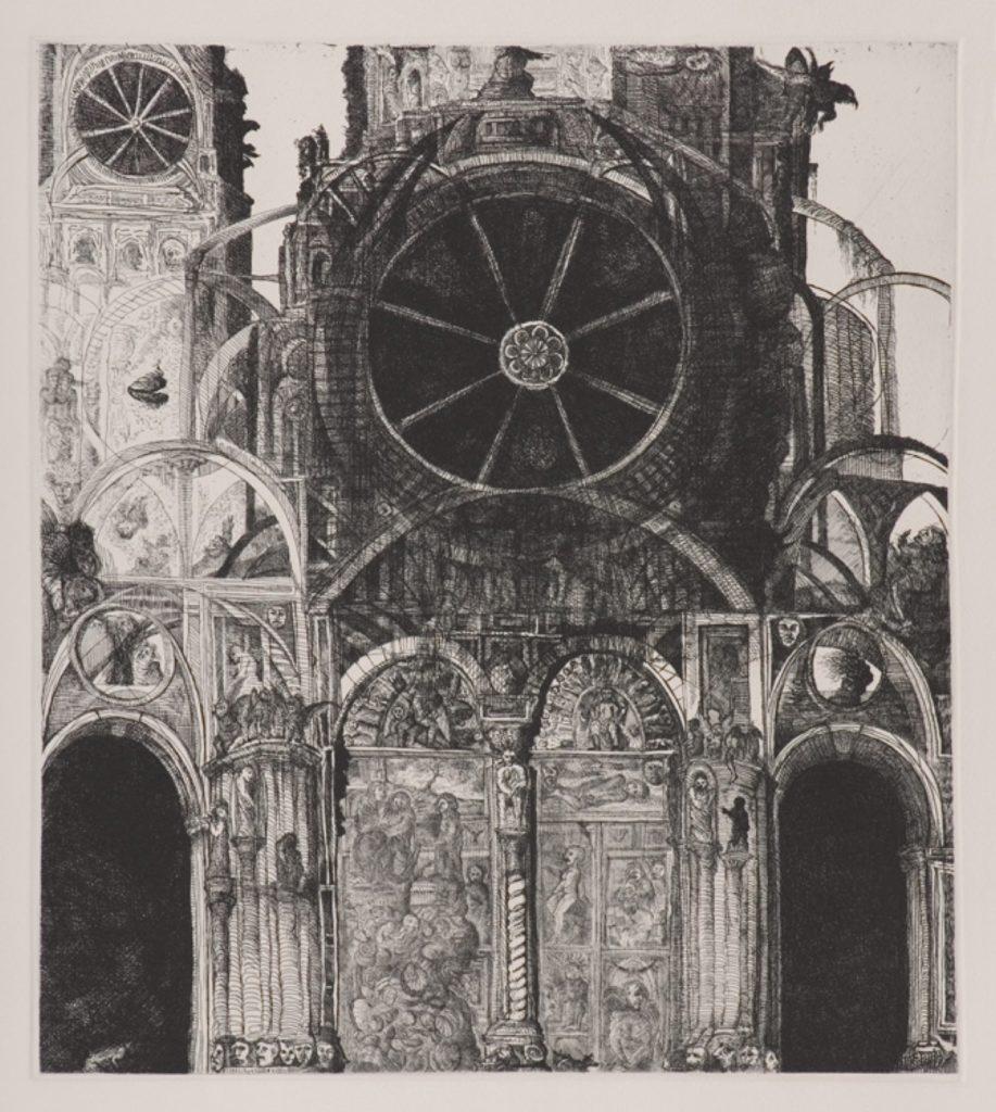 Imaginario de la catedral de Taxco