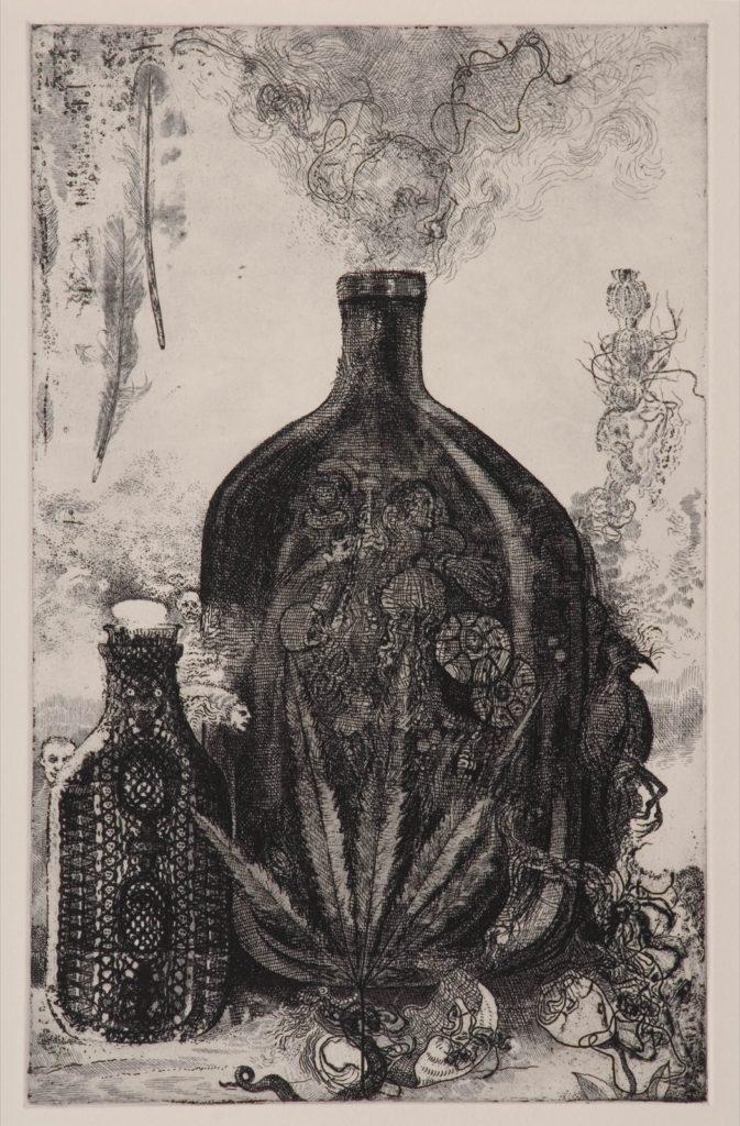 Tríptico - El Mezcasl - panel izquierdo